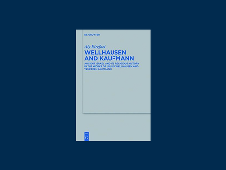 Review of Wellhausen and Kaufmann