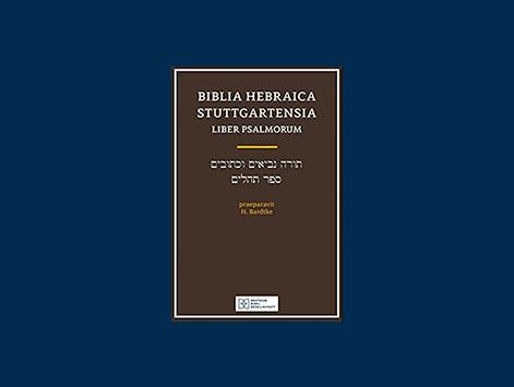 Review of Biblia Hebraica Stuttgartensia: Liber Psalmorum