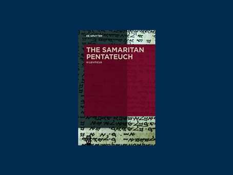 Review of The Samaritan Pentateuch: A Critical Editio Maior