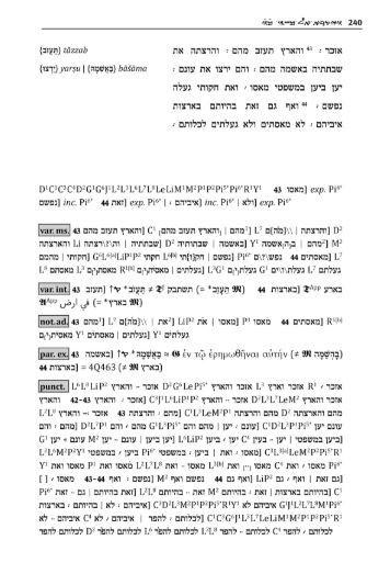 page of Samaritan Pentateuch