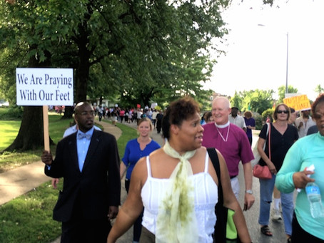 Joining the March in Ferguson . . . Where Ever We Are