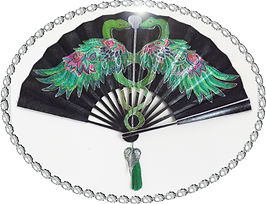 No1 hand Fans Sand Laurenso