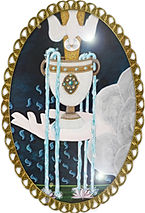 ACE of CUPS The Art of Tarot Artist Sand