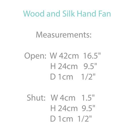 Bamboo and Silk Fan
