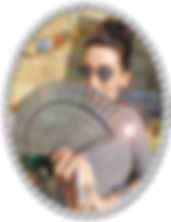 Amanda with No1 Hand Fan.jpg