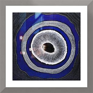 Oroborous painting as Digital Print www.