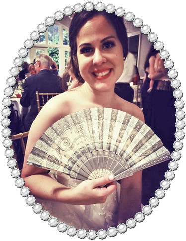 Bride with No1 Hand Fan.jpg