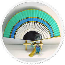 Example Bamboo and Silk Fan Example