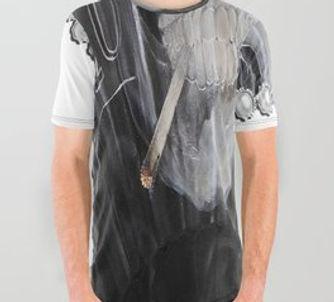 T Shirts-sandlaurenson-smoking,toking,mo