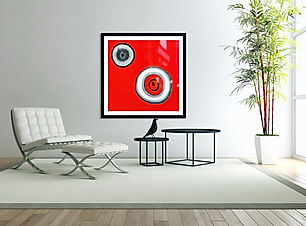 ENSO at actual painting size  www.sandlaurenson 2021 max Ac