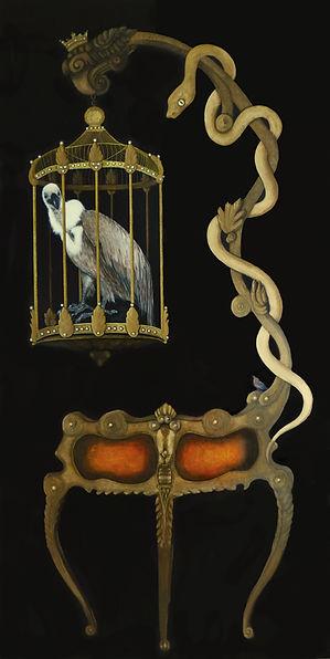 Artist Sand laurenson MARA Vulture Actual 120 x 60cm 47x23.5 300dpi Use.jpg