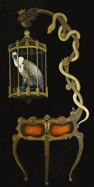 A Vulture in a Cage....