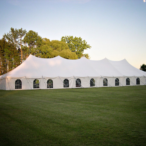 40 x 120 Wedding Tent w/ Window Sidewalls
