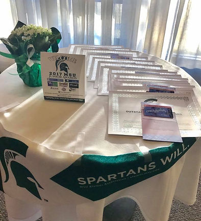 Saginaw Spartan Junior Awards