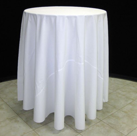30in Table w/ 108in Tablecloth