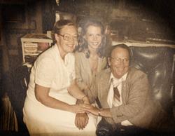 Mom, Dad, & Christine.