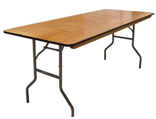 8ft Rectangluar Table