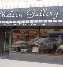 Nielsen Gallery Storefront Bay City, MI