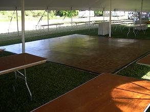 Mid Michigan Tent & Rental Co. Dance Floor