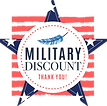 Blufeather Website Design Veteran and Military Discount Icon