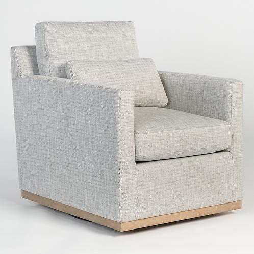 Peppered Slate Swivel Chair