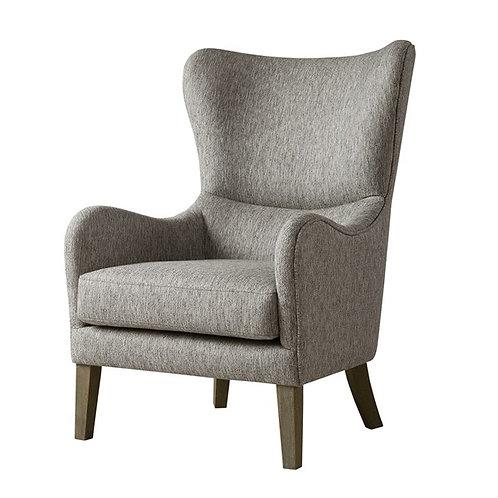 Grey Swoop Chair