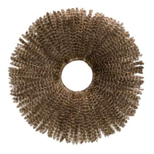 """23"""" Round Feather Wall Decor"""