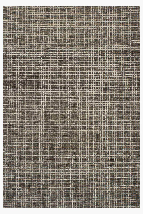 Plaid Wool Rug, Available in several colors