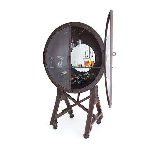 Porthole Industrial Bar