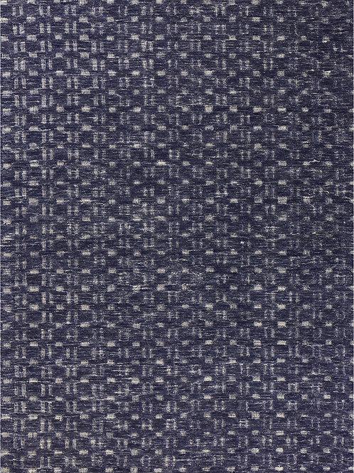 Navy Blue Birch Dimensional Rug