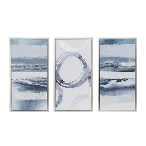 Grey Surround Wall Art, Set of 3