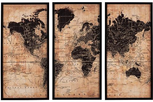 Triptych Map