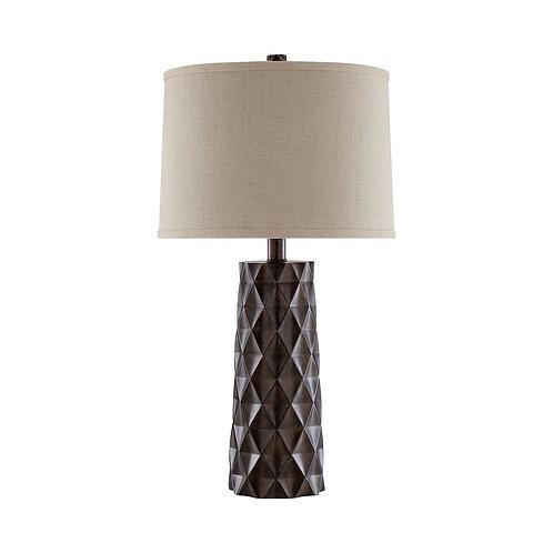 Diamond Wood Table Lamp