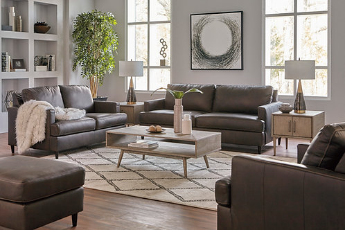 Leather Contemporary Sofa Collection