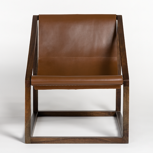 Sling Leather Chair