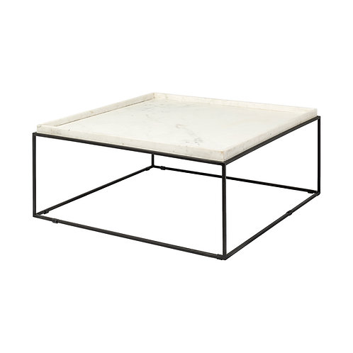 Marble Tray Top Cocktail Table