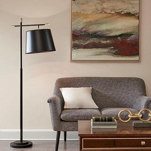 Webster Black Floor Lamp