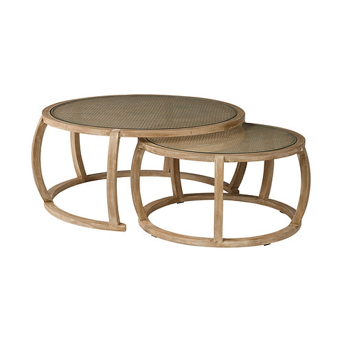 Hubbard Nesting Cocktail Table Set