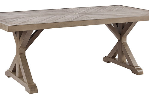 Beach Outdoor Porcelain Top Dining Table
