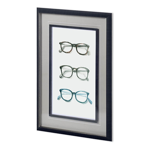 Three Glasses Wall Art