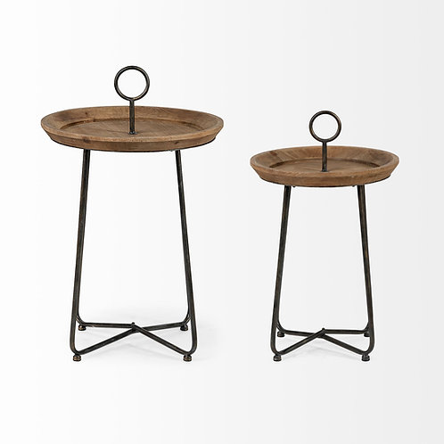 Julius Side Table, 2 Sizes available
