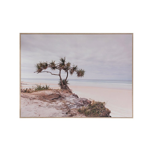 Framed Seascape Canvas Wall Art