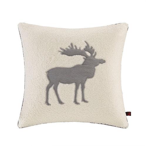 Moose Square Berber Pillow