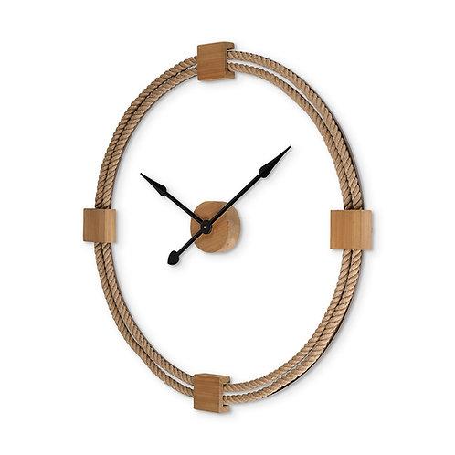 "36"" Coastal Rope Wall Clock"