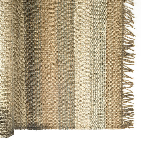 Dolomite 8 x 10 hand Woven Indian Jute Braided Dhurrie Rug