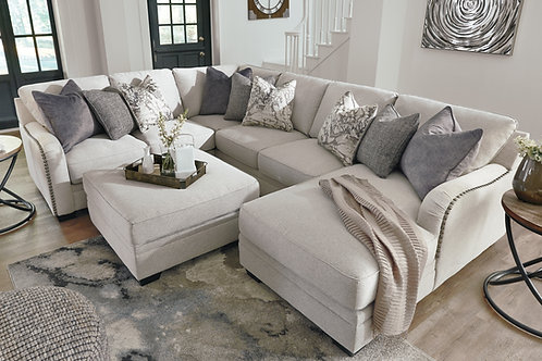 Delaney Grey Sectional Group