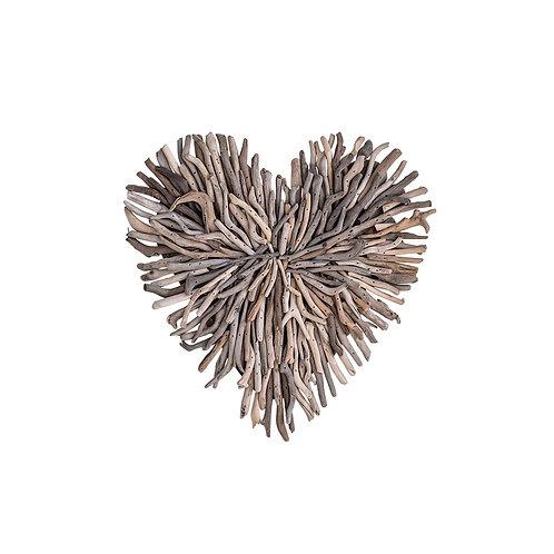 Driftwood Heart Decor