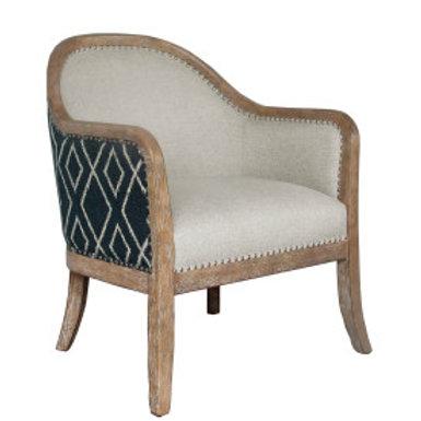 Two-Tone Wood Trim Chair