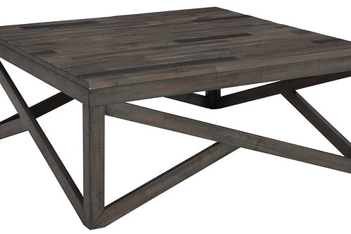 Rustic Gray Cocktail Table