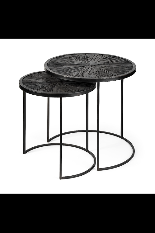 Black Accent Nesting Tables